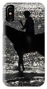 The Equestrian-silhouette IPhone Case