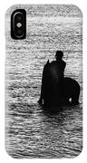The Equestrians-silhouette IPhone Case