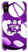 The Eternal Glass Purple IPhone Case