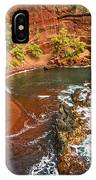 The Exotic And Stunning Red Sand Beach On Maui IPhone Case