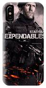 The Expendables 2 Statham IPhone Case