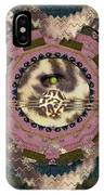 The Eye Of The Hidden Tiger IPhone Case