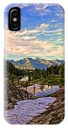 The Eyes Of The Mountain. IPhone Case