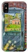 The Factory Door IPhone Case