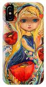 The Fairies Of Zodiac Series - Virgo IPhone X Case