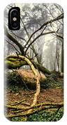 The Fallen Tree II IPhone Case