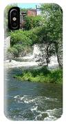 The Falls In Middlebury IPhone Case