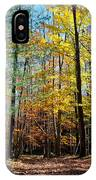 The Final Days Of Autumn Color IPhone Case