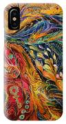 The Fire Dance IPhone Case