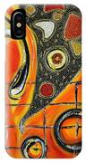 The Fires Of Charged Emotions IPhone Case