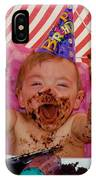The First Birthday Cake IPhone Case