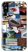 The Fishing Hole Collage Rectangle IPhone Case