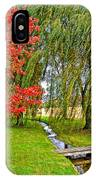 The Flow Of Autumn IPhone Case