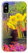 The Flower Stand  IPhone Case