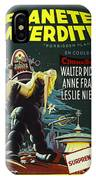 The Forbidden Planet Vintage Movie Poster IPhone Case