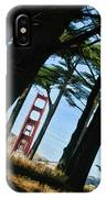 The Forest Of The Golden Gate IPhone Case