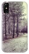 The Forest Road Retro IPhone Case