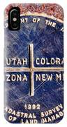 The Four Corners IPhone Case