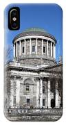 The Four Courts North Quays Dublin IPhone Case