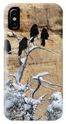The Four Crows IPhone Case