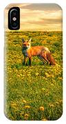 The Fox And The Cow IPhone Case