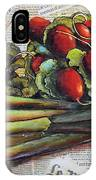 The French Cook IPhone Case