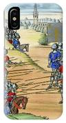 The French Defeat The Flemish IPhone Case