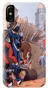 The French Legion Storming A Carlist IPhone Case