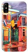 The Frenchmen Hotel New Orleans IPhone Case
