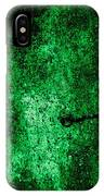 The Galaxy Green Version IPhone Case
