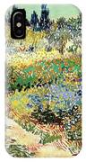 The Garden At Arles, 1888 IPhone Case