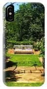 The Garden Bench IPhone Case