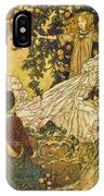 The Garden Of Paradise IIi IPhone Case