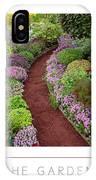 The Garden Poster IPhone Case