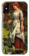 The Gardeners Daughter IPhone Case