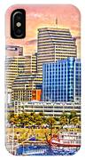The Garish City Cincinnati IPhone Case