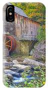 The Glade Grist Mill IPhone Case