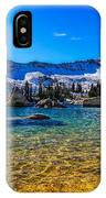 The Gold Lake Bottom IPhone Case