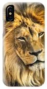 The Golden King 1 IPhone Case