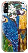 The Golden Macaw IPhone Case