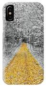 The Golden Path  IPhone Case