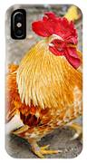 The Golden Rooster IPhone Case