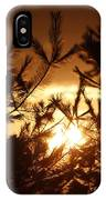 The Golden Sunset IPhone Case