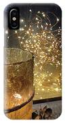 The Golden Warmth Of Winter IPhone Case