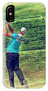 The Golf Swing IPhone Case