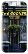 The Gooners Pub IPhone Case