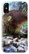 The Gorge Trail Stone Bridge IPhone Case