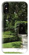 The Govenor's Gardens IPhone Case