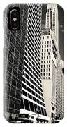 The Grace Building And The Chrysler Building - New York City IPhone Case