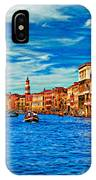 The Grand Canal Impasto IPhone Case
